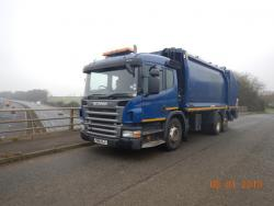 2011 Scania P280, Geesink GPM III, Domestic II Binlift