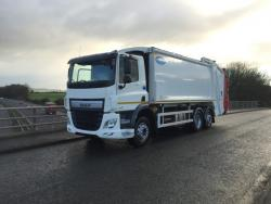 BRAND NEW Euro 6 2018 Daf CF330, Dennis Olympus, c/w Beta 2 Lip Lift