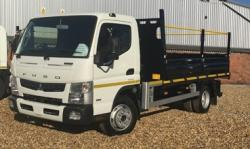 BRAND NEW Euro 6 2018 Fuso 7C15 Duconic Workstation Tipper