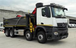BRAND NEW Euro 6 2018 Mercedes Arocs 3240, Tipper Grab