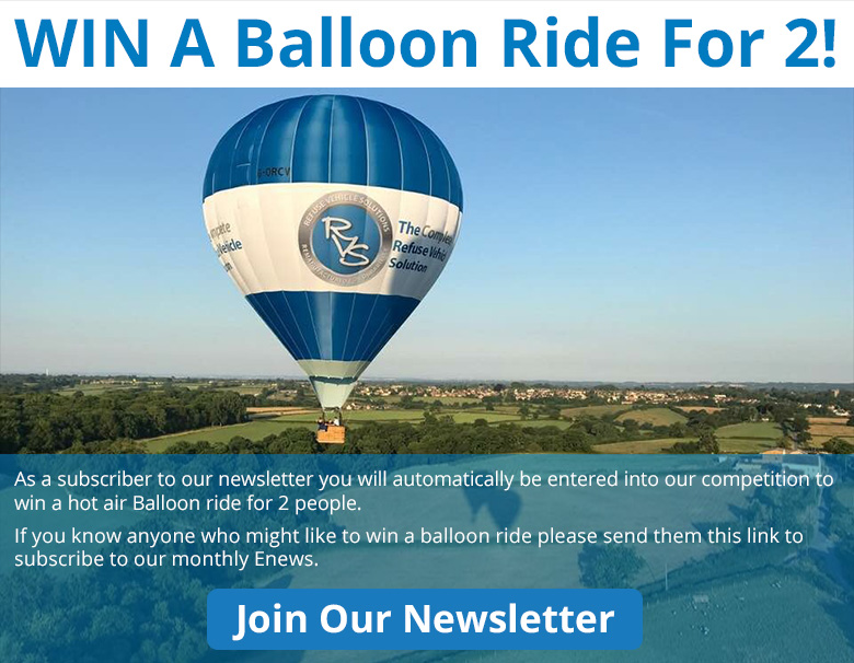 WIN A Balloon Ride For 2!