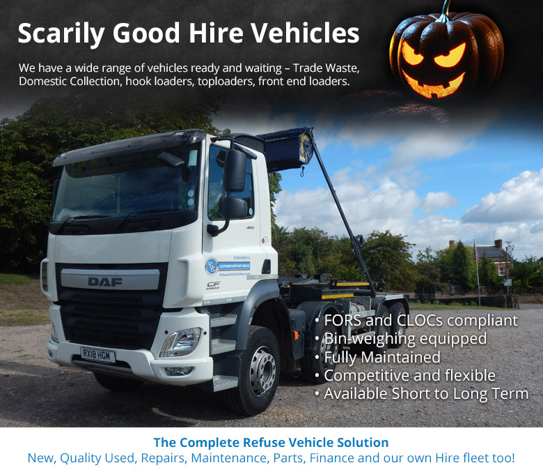 We have a wide range of vehicles ready and waiting – Trade Waste, Domestic Collection, hook loaders, toploaders, front end loaders
