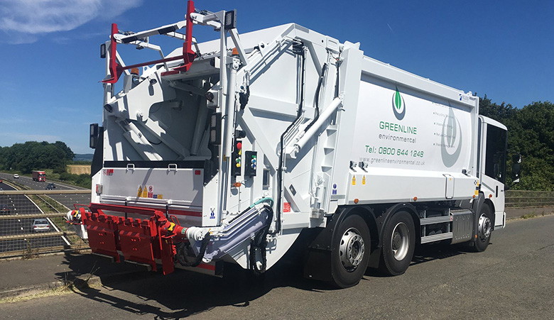 Greenline launches its Pay-By-Weight refuse service with RediTruck