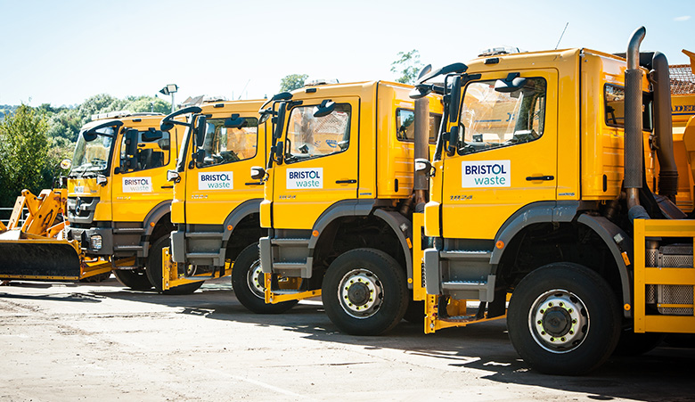 Gritters in Bristol spruced up ready for this year's winter maintenance