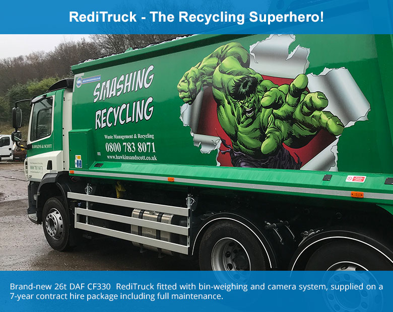 RediTruck - The Recycling Superhero!