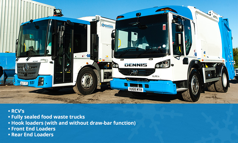 We are continuing to invest in our hire fleet with 10 brand-new Euro 6 refuse trucks joining us before the end of the year and another 15 vehicles on order for 2019.