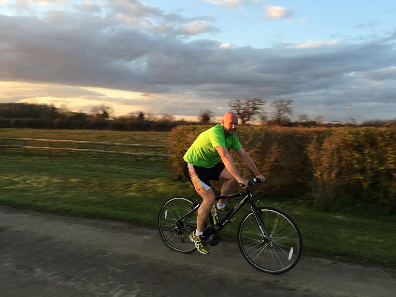 RVS Director Joins Charity Cycle Ride From Kent To Ghent