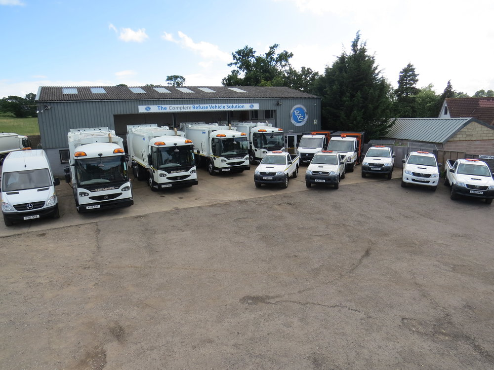 Ubico Selects Quality Used Vehicles For New Stroud Contract