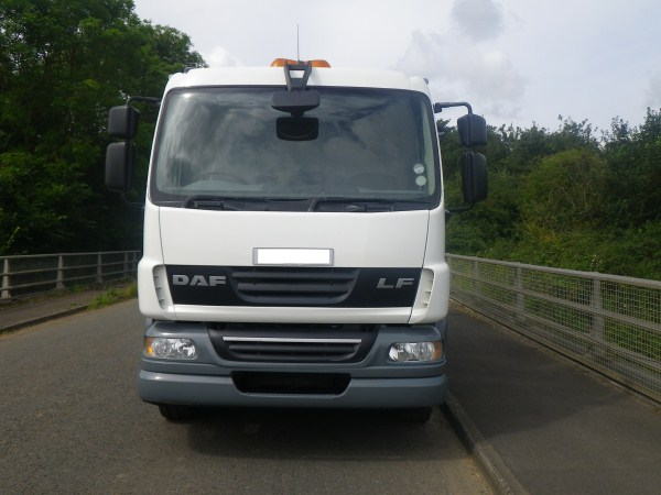 2007 Daf LF 55, NTM, Trade Bin Lift