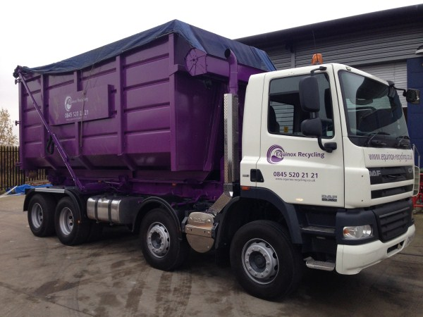 2008 Daf CF, Boughton Hooklift, c/w Sheeting System