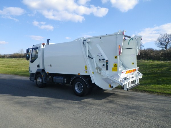 2008 Daf LF45, NTM K-Mini, Trade Bin Lift