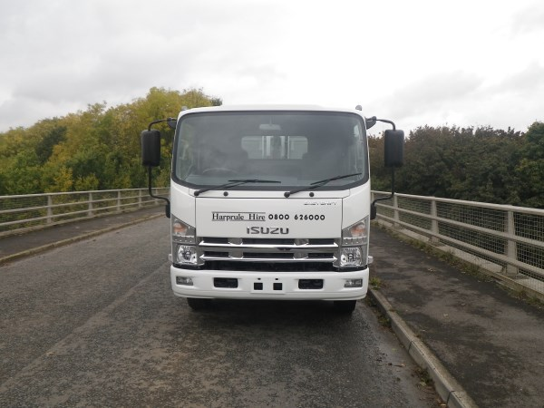 Brand New Isuzu N75, c/w Remanufactured NTM K-Midi with Trade Binlift