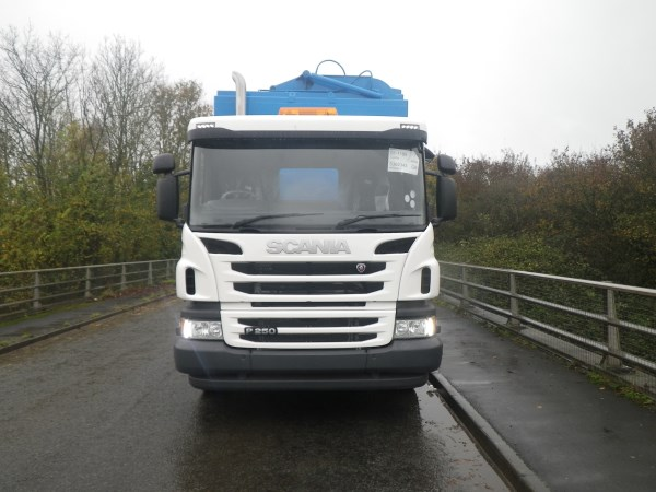 Brand New Scania P250, c/w Remanufactured Terberg Toploader