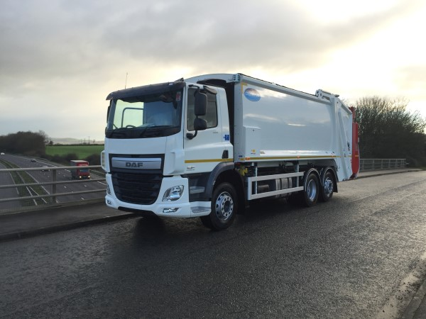 Daf Redi Truck Supplied To Ron Smith Recycling