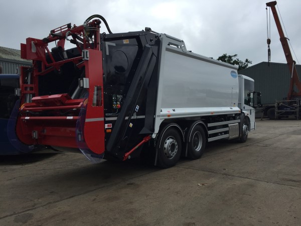 Mercedes Econic Redi Truck Supplied to FD Todd