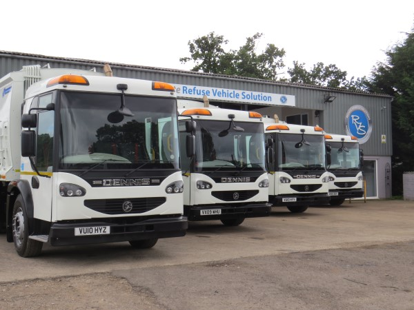 Quality Used Refuse Vehicles Supplied to Ubico Ltd