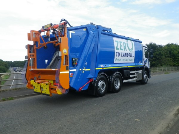 RVS Redi Truck supplied to Devon Contract Waste
