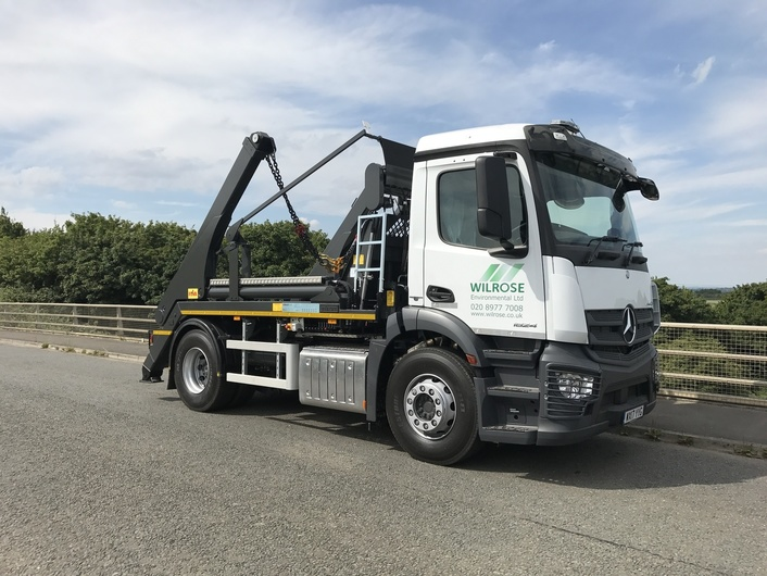 Redi Truck Supplied to Wilrose Environmental Ltd