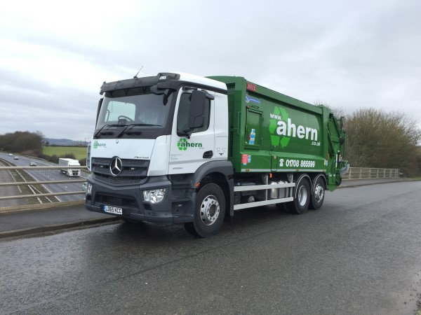 Remanufactured Heil Powerlink Supplied to Ahern Waste Management