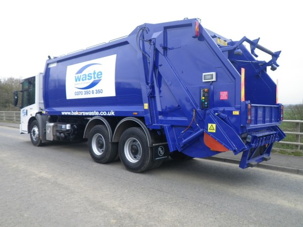 Remanufactured for Bakers Waste Services