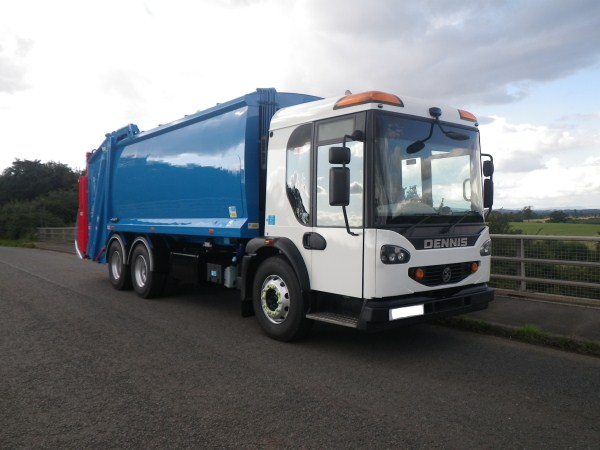 Supplied to Binn Skips Ltd