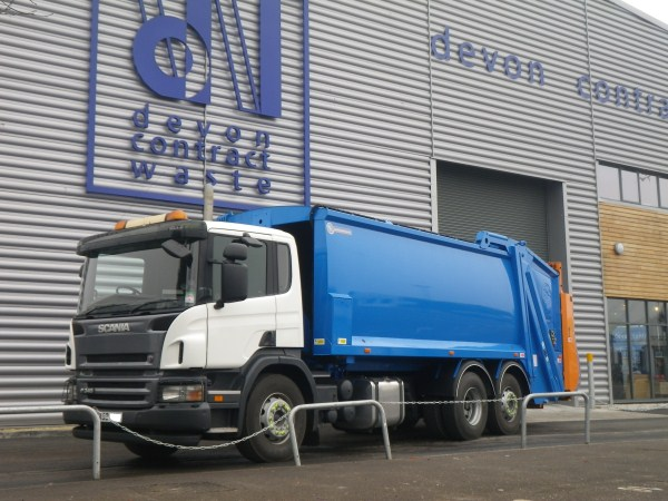 Supplied to Devon Contract Waste Ltd