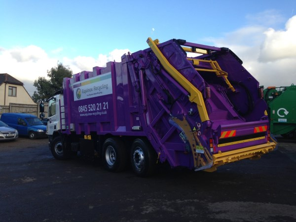 Supplied to Equinox Recycling