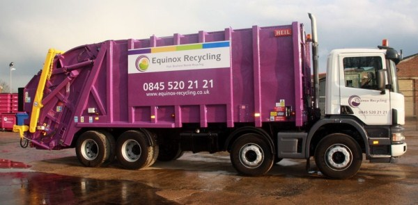 Supplied to Equinox Recycling Ltd