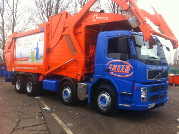 Supplied to Fresh Start Waste Services