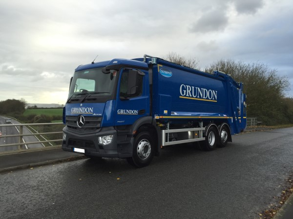 RVS Redi Truck supplied to Grundon Waste Management
