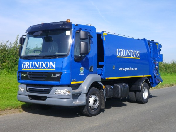 Supplied to Grundon Waste Management Limited