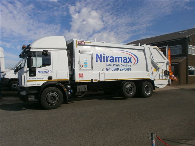 Supplied to Niramax Waste Solutions
