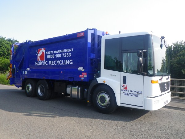 Supplied to Nordic Recycling Ltd