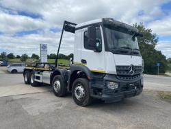 BRAND NEW 2020 Euro 6 Mercedes Arocs 4, Hyva Hookloader with Sheeting System