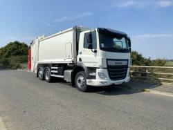 BRAND NEW 2020 Euro 6 DAF CF330, Dennis Eagle Olympus, with Dennis Eagle Beta 2 Trade Lift