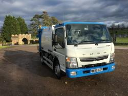 BRAND NEW 2020 Euro 6 Mitsubishi Fuso, Refurbished NTM K- Midi with trade bin lift