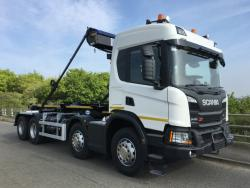 BRAND NEW Euro 6 2019 Scania, Bughton Hook Lift