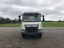 BRAND NEW  Euro 6 2019 18T 4x2 DAF LF, Hyva Skiploader with Sheeting System
