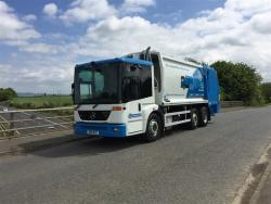 Euro 5 2007 26T, Mercedes Econic, Geesink GPM III with Geesink GCB 1000 Bin Lift