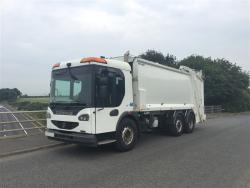 Euro 5 2009 26T, Dennis Eagle Elite 2 Mid Steer, Phoenix 2 Narrow, with Terberg OmniDel Bin Lift