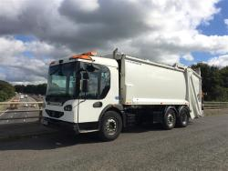 Euro 5 2009 26T, Dennis Eagle Elite 2 Mid Steer, Phoenix 2 Narrow with Terberg Omnidel Bin Lift