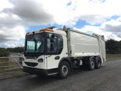 Euro 5 2009 26T, Dennis Eagle Elite 2 Mid Steer, Phoenix 2 Narrow with Dennis Eagle Beta Bin Lift