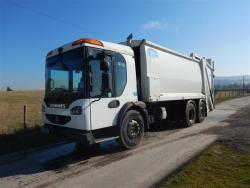 Euro 5 2010 26T, Dennis Eagle Elite Rear Steer, Olympus with Terberg Omnidel Bin Lift