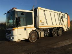 Euro 5 2012 26T, Mercedes Econic Rear Steer, Faun Selectapress with Zoller Triple Lift