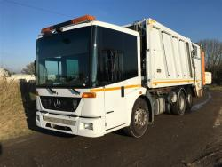 Euro 5 2012 26T, Mercedes Econic Rear Steer, Faun Selectapress with Zoeller Triple Lift