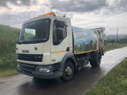 Euro 5 2012 7.5T DAF LF45 160, NTM K-Midi with NTM Trade Bar Lift