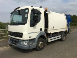 Euro 5 2013 12T, DAF LF45 220 NTM K with NTM Trade Bar Bin Lift