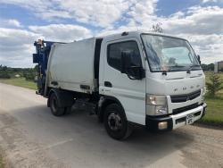 Euro 5 2013 12T Mitsubishi Fuso Canter, NTM K-MIDI with NTM trade bar bin lift