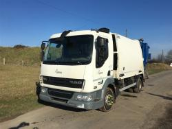 Euro 5 2013 12T DAF LF45 220, NTM K2K Maxi with NTM Trade Bar Bin Lift