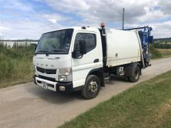Euro 5 2013 7.5T Mitsubishi Fuso, NTM K-Midi with NTM Bar Bin Lift